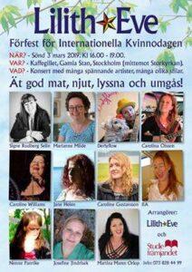 Förfest för kvinnodagen 2019